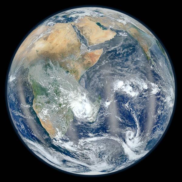 Blue Marble - słynne zdjęcie Ziemi wykonane przez NASA