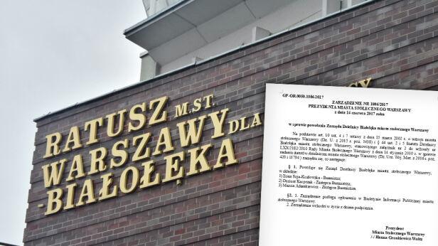 Białołęka ma komisarza. Jest oficjalna decyzja prezydent Warszawy