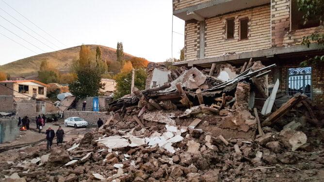 Trzęsienie ziemi w Iranie. <br />Ofiary śmiertelne i setki rannych