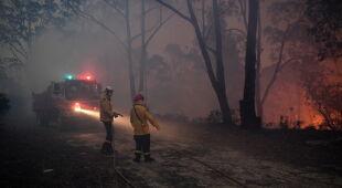 Pożary w Australii (PAP/EPA)