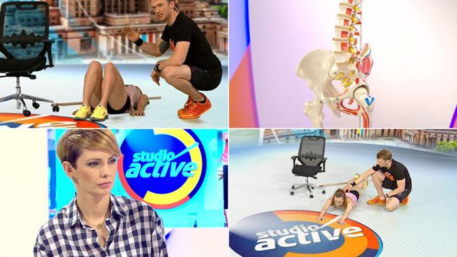"""""""Studio Active"""": ćwiczenia na zdrowy kręgosłup"""