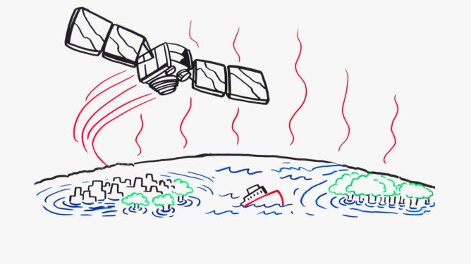 NASA ostrzega przed rosnącym <br />poziomem wód oceanów