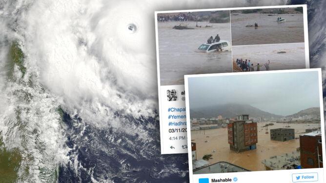 Ponad milion ofiar cyklonu Chapala. <br />Kontrola Al-Kaidy utrudnia niesienie pomocy