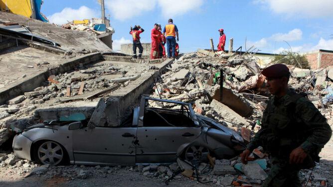 Ekwador po trzęsieniu ziemi: 413 osób nie żyje, straty oceniono na miliardy dolarów