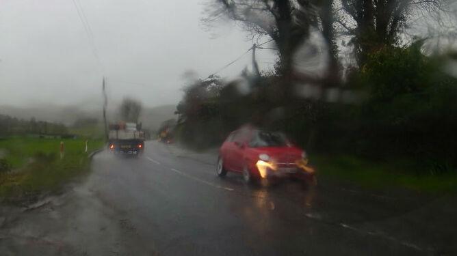 Na drogi spadnie deszcz