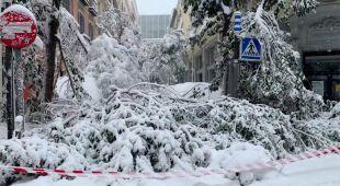 Relacja Polki z zaśnieżonego Madrytu