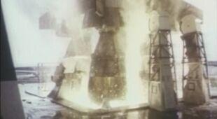 Tak wyglądała chwila wystrzelenia Apollo 11